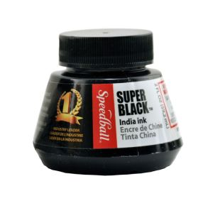 Speedball Indian Ink Black 2oz