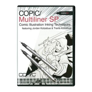 Copic DVD Airbrush System 3 Comic Illustration_