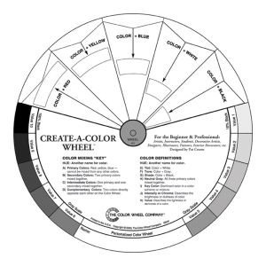 Create-A-Color Wheel (Black & White)