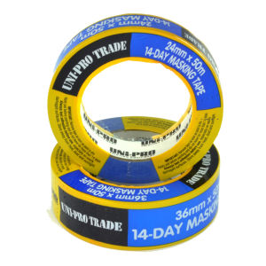 UniPro 14 Day Masking Tape 36mm x 50m