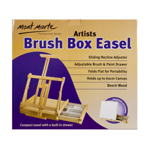 Mont Marte Big Desk Easel with box - Beech