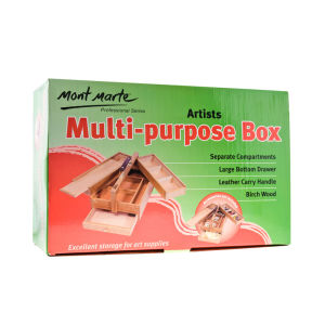 Mont Marte Multi-Purpose Wood Art Box