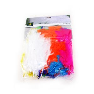 Shamrock Feathers Pkt 250 Assorted Colour