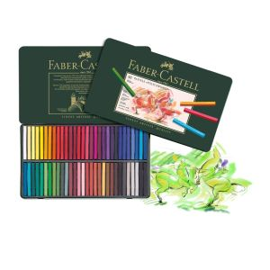 Faber-Castell Polychromos PASTELS 60 assorted TIN