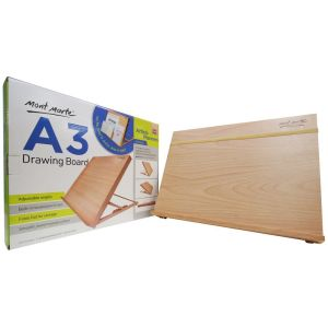 Mont Marte Drawing Board A3 with elastic band