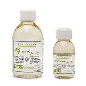 Sennelier Green Non Toxic Additive Oil Cleaner 100ml