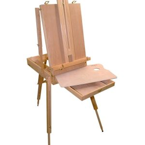 Mont Marte French Box Easel X.L. Beech