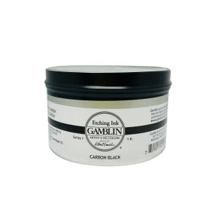 Gamblin Etching Ink 300ml - Carbon Black