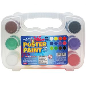 Mont Marte Kids Poster Paint 12pce x 15ml