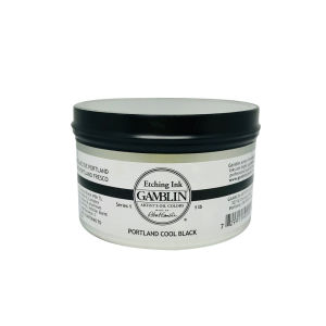 Gamblin Etching Ink 300ml - Portland Cool Black
