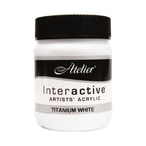 Atelier Interactive 500ml S1 Titanium White