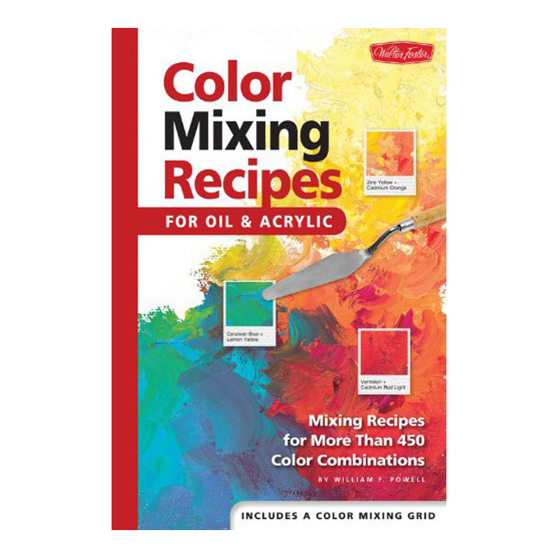Book - COLOR MIXING RECIPES FOR OIL & ACRYLIC