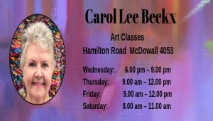 Art Classes - Carol Lee Beckx