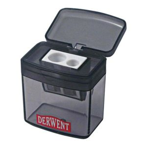Derwent Manual Twin Hole Pencil Sharpener