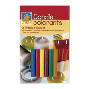 Gedeo Candle Colourant 6 Mixable Colours