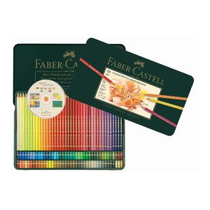 Faber-Castell Polychromos Pencil 120 assorted in a tin