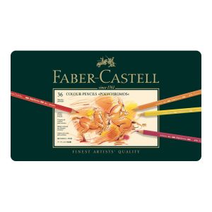 Faber-Castell Polychromos Pencil 36 assorted in a tin