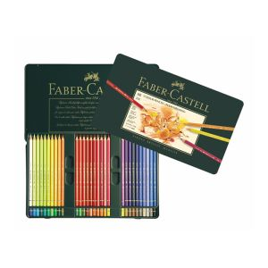 Faber-Castell Polychromos Pencil 60 assorted in a tin