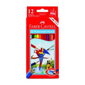 Faber-Castell Watercolour Pencils 12 assorted
