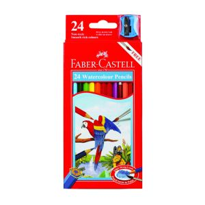 Faber-Castell Watercolour Pencils 24 assorted