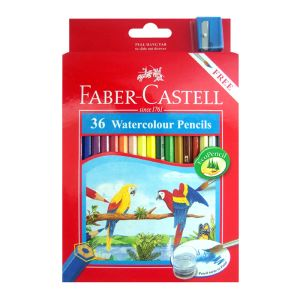 Faber-Castell Watercolour Pencils 36 assorted