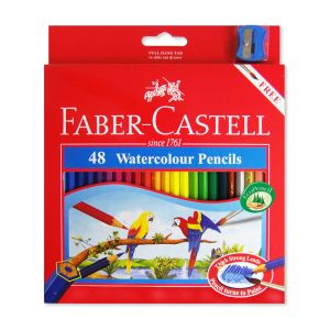 Faber-Castell Watercolour Pencils 48 assorted