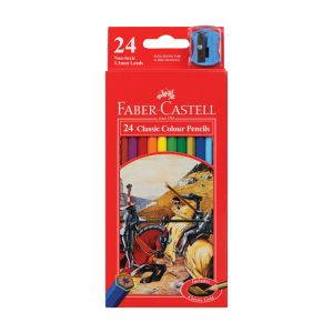 Faber-Castell Classic Colour Pencils 24 assorted