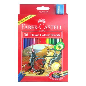 Faber-Castell Classic Colour Pencils 36 assorted
