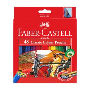 Faber-Castell Classic Colour Pencils 48 assorted
