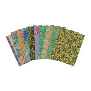 Zart Rice Paper 10 sheets Assorted (large sheet)