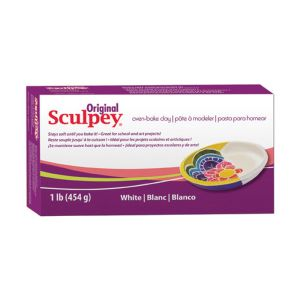 ORIGINAL SCULPEY WHITE 1lb/454GM