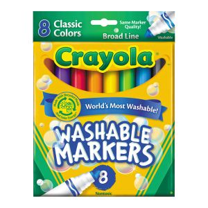 Crayola Washable Broadline Markers