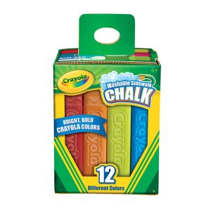 Crayola Washable Sidewalk Chalk 12 piece