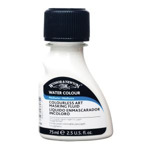 Winsor and Newton Colourless Art Masking Fluid 75ml
