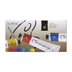 Chromacryl Student Acrylic Set 75ml x 10