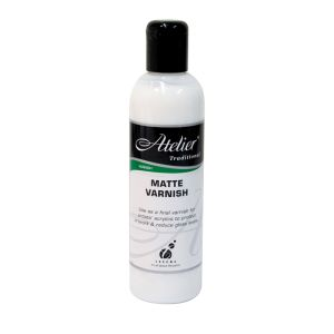 Atelier 250ml Matte Varnish
