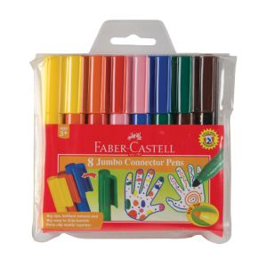 Faber-Castell Jumbo Connector Pens