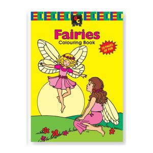 Educational Colours COLOURING BOOK - Fairies