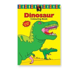 Educational Colours COLOURING BOOK - Dinosaur