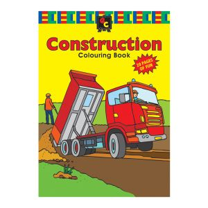 Educational Colours COLOURING BOOK - Construction