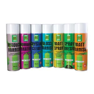 National Art Materials Spray Varnishes