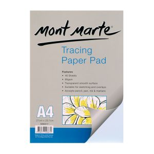 Mont Marte Tracing Paper Pad 60gsm 40 sheet A4