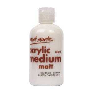 Mont Marte Acrylic Medium 135mls - Matte