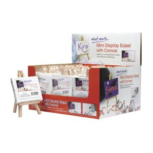 Mont Marte Mini Display Easel with Canvas 8x10cm