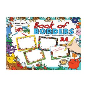 Mont Marte Kids Colour Book of Borders A4_