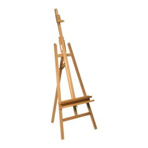 Mont Marte Floor Easel with Tilt Beech Wood