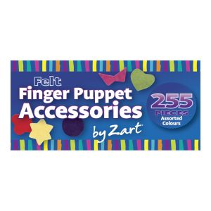 Zart Felt Finger Puppet Accessories Pkt 255