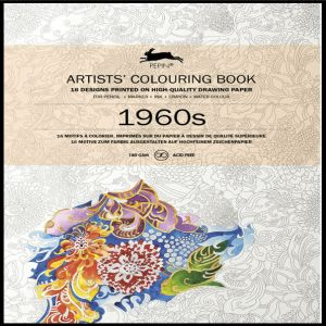 Pepin Artist Colouring Book - 1960s