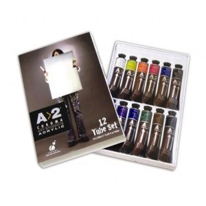 A2 Acrylic 20ml Set of 12