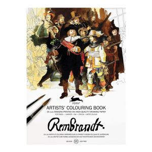 Pepin Artist Colouring Book - Rembrandt Paintings